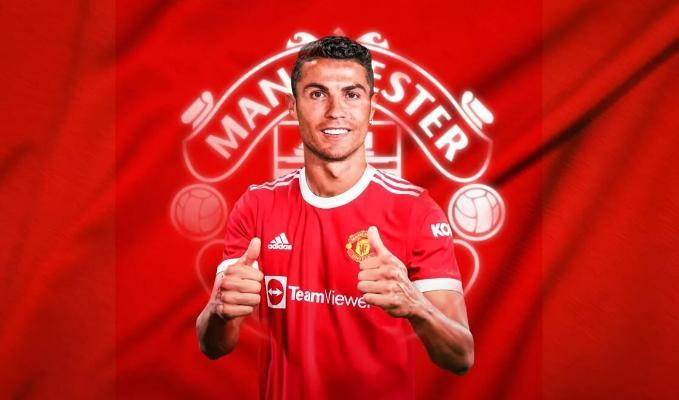 Криштиану Роналду перешел из «Ювентуса» в «Манчестер Юнайтед»