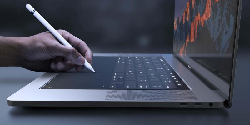 Apple goşa ekranly «MacBook» oýlap tapdy