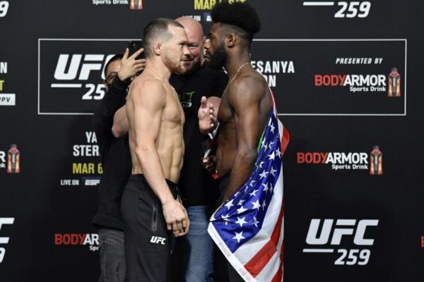 UFC Pýotr Ýan bilen Aljameýn Sterlingiň täzeden söweşjekdigini habar berdi