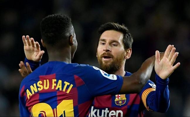 Messi gidenden soň, «Barselonada» «10-luk» belgide Ansu Fati çykyş eder