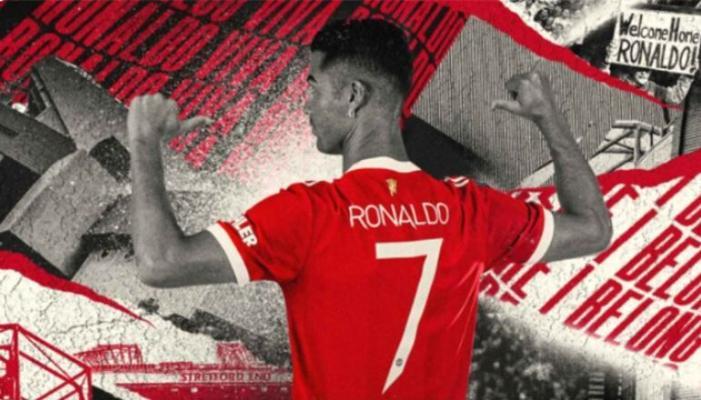 """Криштиану Роналду будет играть в """"Манчестер Юнайтед"""" под седьмым номером"""