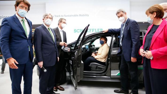 В Мюнхене открылся международный автосалон IAA