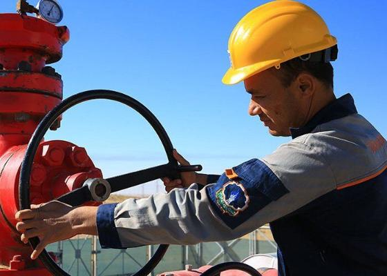 8 aýda Türkmenistan tebigy gazyň 55 milliard kub metrini gazyp aldy