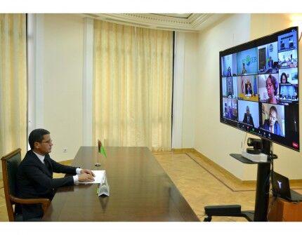 Türkmenistanyň oba hojalyk we daşky gurşawy goramak ministri «C5+1» duşuşygyna gatnaşdy
