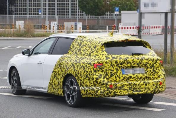 Электрическая версия Opel Astra выйдет на мировые рынки в 2023 году