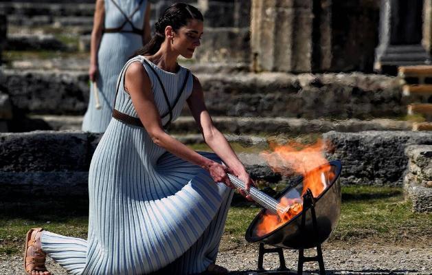В Греции в октябре зажгут огонь для зимней Олимпиады в Пекине