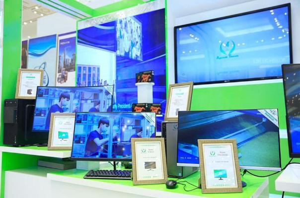 В Экспоцентре ТППТ продолжает свою работу масштабная выставка, посвященная 30-летию независимости Туркменистана
