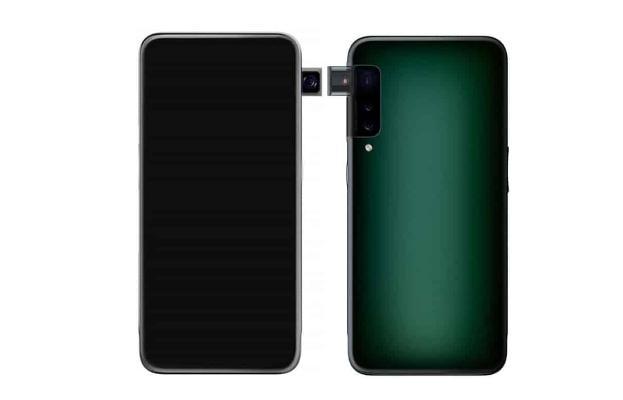 Oppo gapdal kameraly smartfony patentledi