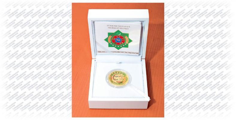 Türkmenistanyň Garaşsyzlyk toýuna ýadygärlik şaýy pullar çykaryldy