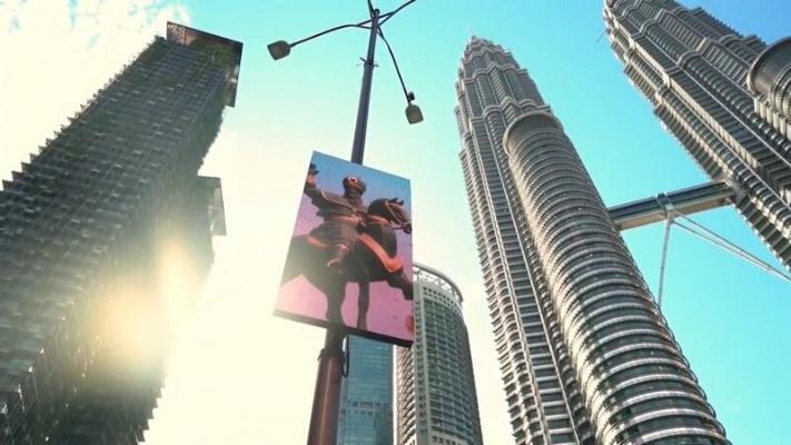 В столице Малайзии демонстрируются видеоролики, посвященные 30-летию туркменской независимости