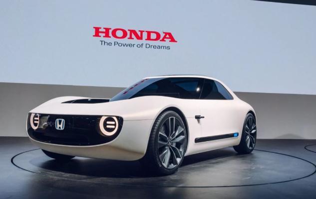 Honda 2040-njy ýyla çenli doly elektrikli marka öwrüler