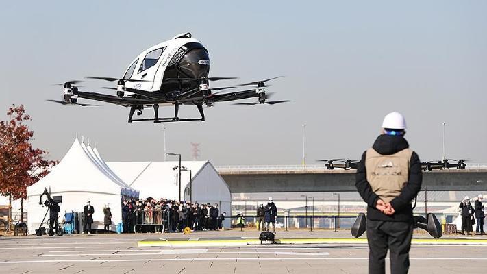 2025-nji ýyla çenli Seulda aerotaksiler peýda bolar